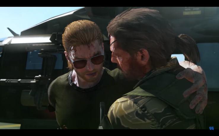 Big Boss carries his disabled friend